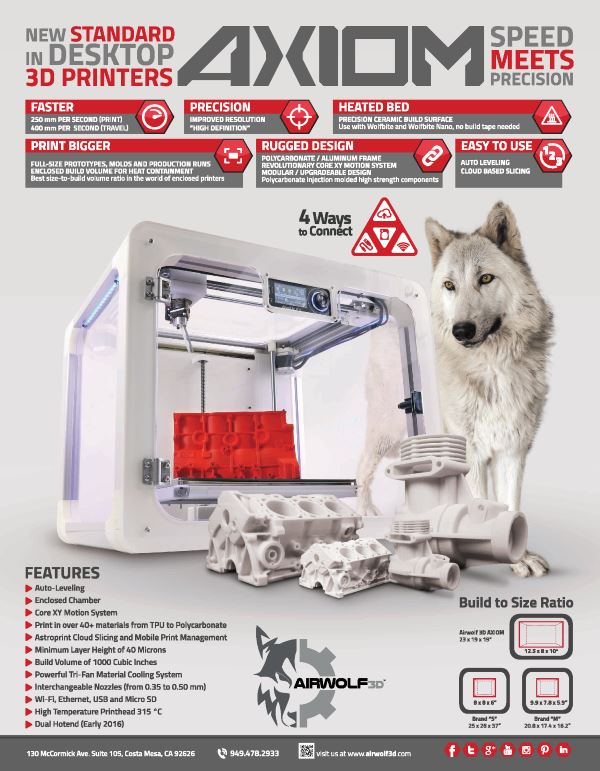 Altair High-Performance 3D Printer
